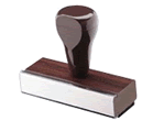 5LN - Traditional Handle Notary Stamp