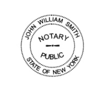 Notary Pocket Seal