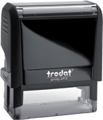 Trodat Self inking stamps are one of the best made. Trodat 4910 keychain for doctors