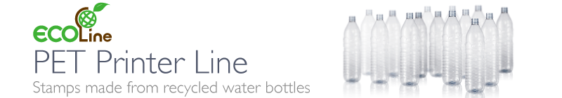 Save the Oceans<BR> Stamps Made From<BR>Recycled Water Bottles